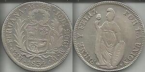 PERU-039-4-REALES-1854-LIMA-MB