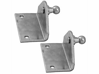 GAS SPRING LIFT STAINLESS STEEL 90º MOUNTING PAIR OF BRACKETS - ATTWOOD