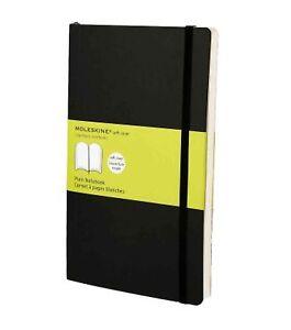 Moleskine-13X21-cm-Softcover-Notizbuch-192-Seiten-schwarz-blanko