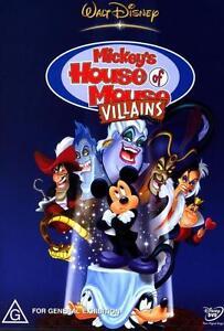 Mickey-039-s-House-of-Mouse-Villains-NEW-DVD-Region-4-Australia