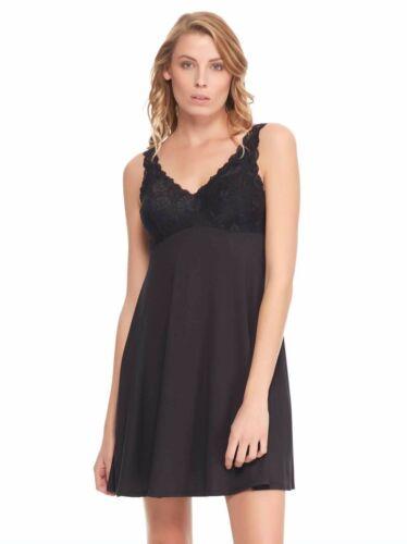 FelinaMicro Modal ChemiseLaceAdjustableLoungewearSleepwear