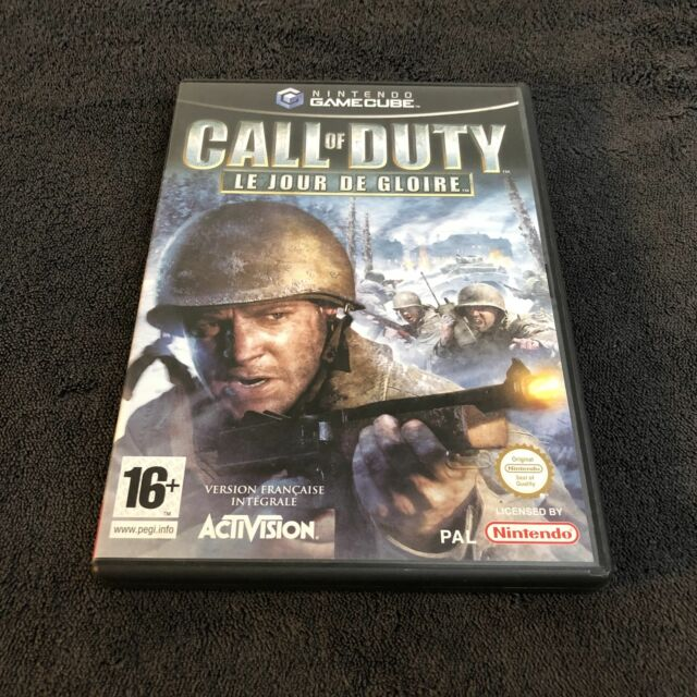 Nintendo Game Cube Call Of Duty Le Jour de Gloire FRA Excellent état