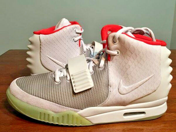 Nike X Kanye West YEEZY 2 Platinium  Gris  OG ALL DS