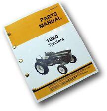 Parts Manual For John Deere 1020 Tractor Catalog Gas Diesel