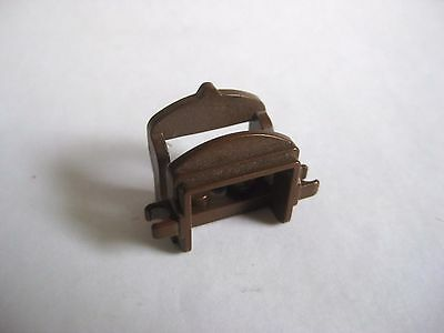 Lego Old Brown SADDLE For Horse Animals -2 Clips- Western Castle Sets