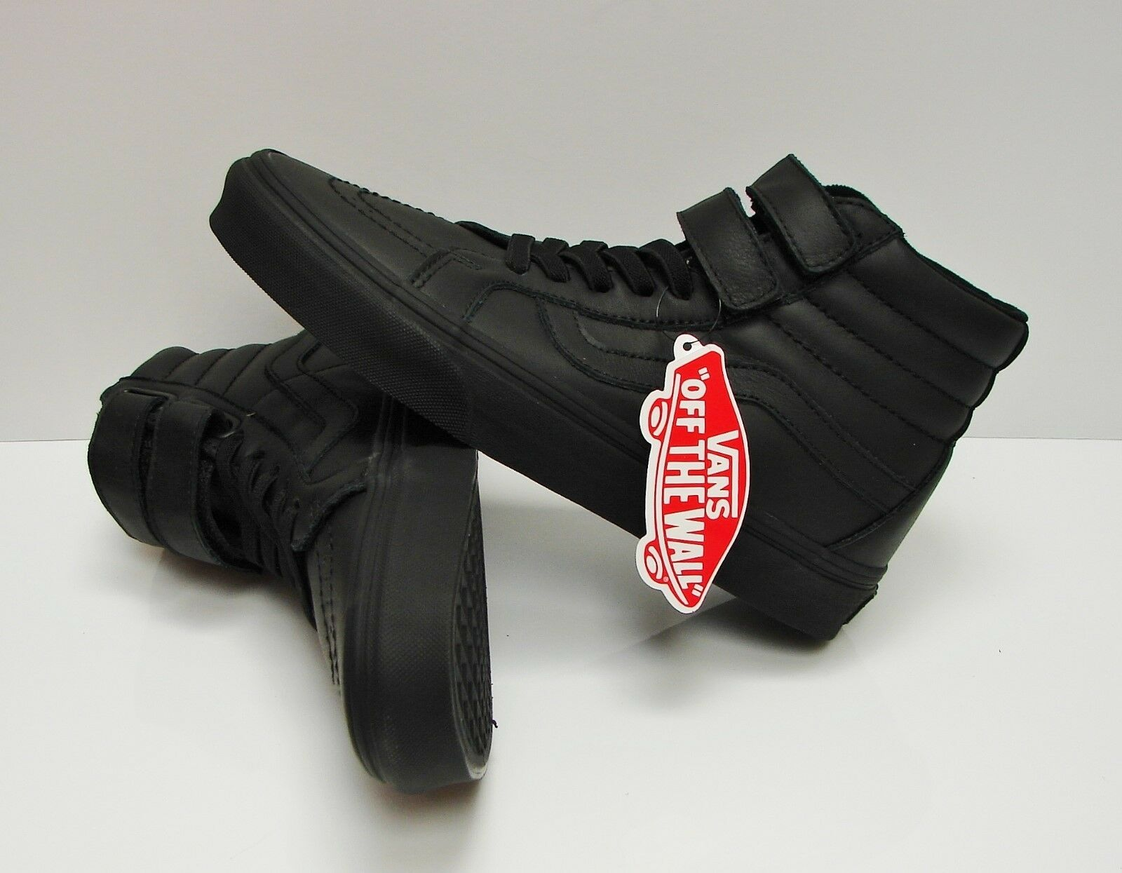 Vans SK8 Hi Reissue V V V Mono Leather Black VN0A3D28OOZ Men's Size: 12 d3d33b