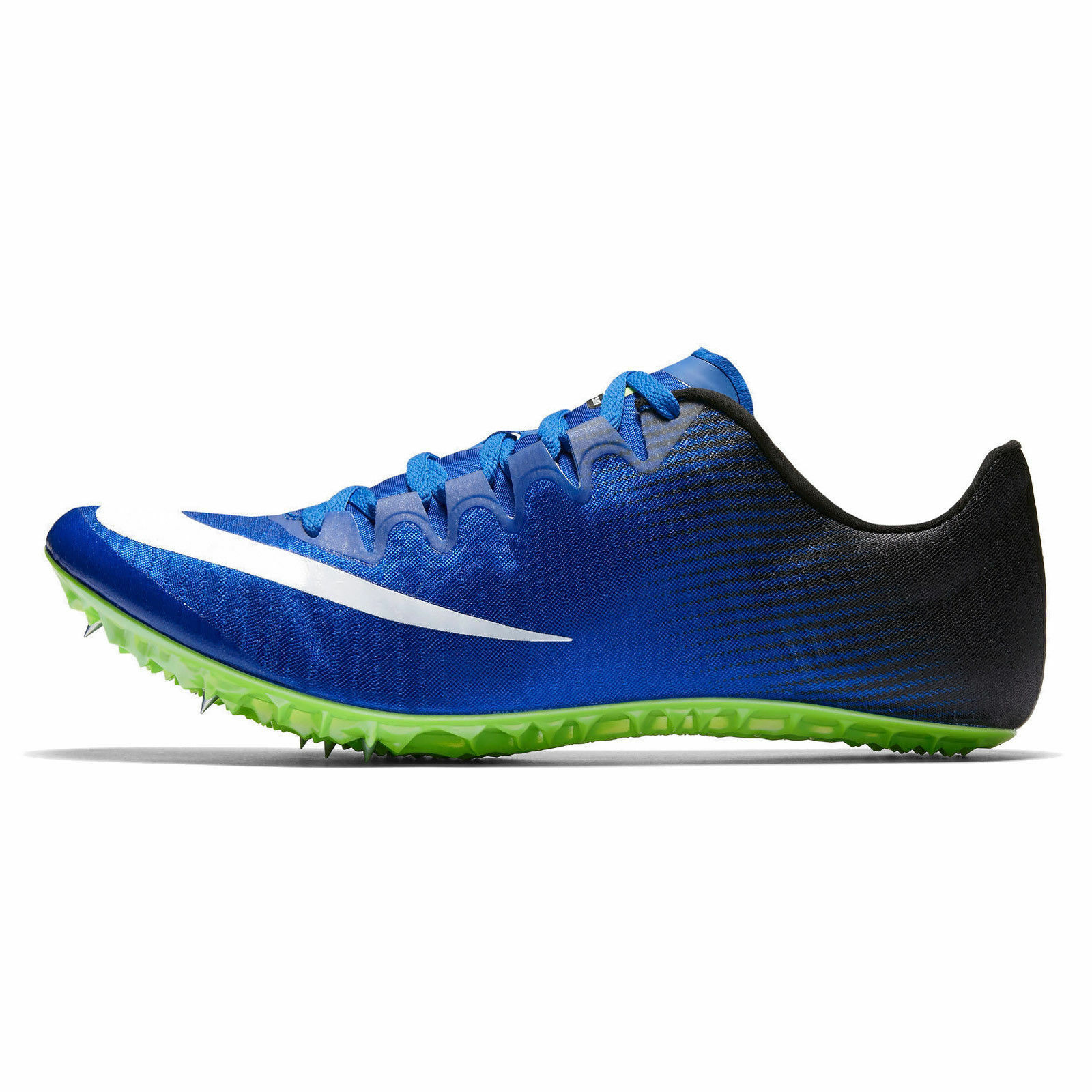 New Mens Nike Zoom Superfly Elite Spikes Running Shoes 13 Blue White 835996-413