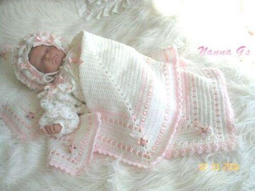 """instrucciones /""""chal almohada que empareja /& Star/"""" para bebé o para mostrar su Reborn"""