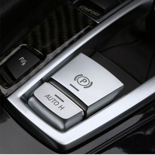 Car Moulding Parking Brake Button Cover Sticker Decor Trim For BMW F10 F16 F25
