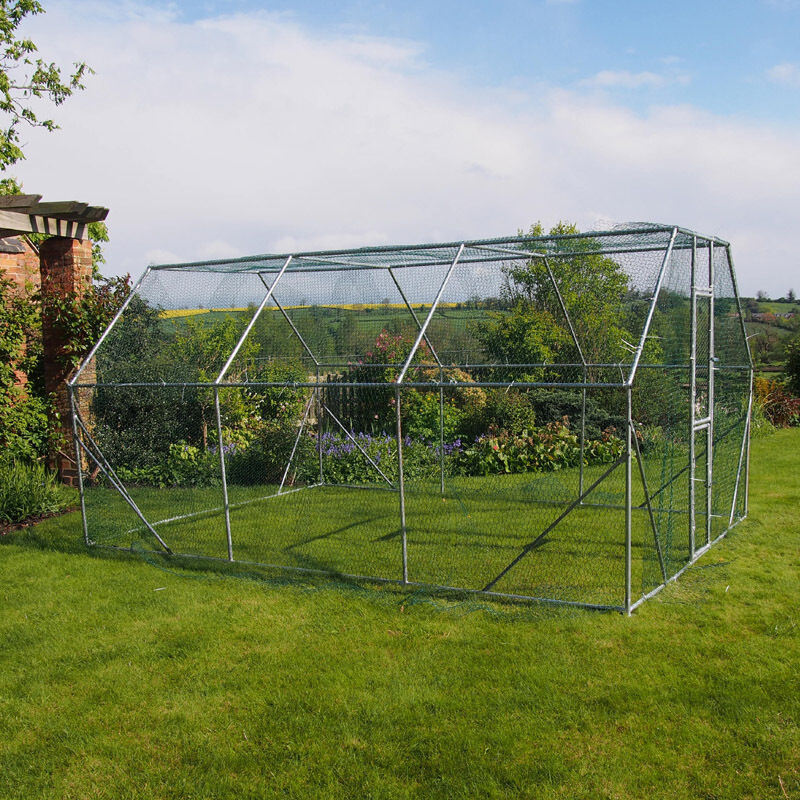Chicken Run 4m X 3m Walk In Pet Cage Coop For Dog Rabbit