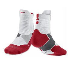 Becks reemplazar Alfombra  Nike HYPER Elite Cushioned Basketball Crew Socks for sale online | eBay