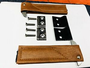 AHS-MG-MIDGET-039-62-039-79-A-Leaf-DOOR-CHECK-STRAPS-inc-s-s-end-caps-Etc-BD8-D4-F