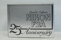 Nikon F2A 25th Years Anniversary Camera  with Box