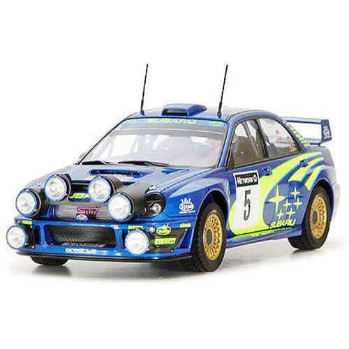 TAMIYA 24250 Subaru Impreza 2001 GB rally 1 24 Car Model Kit