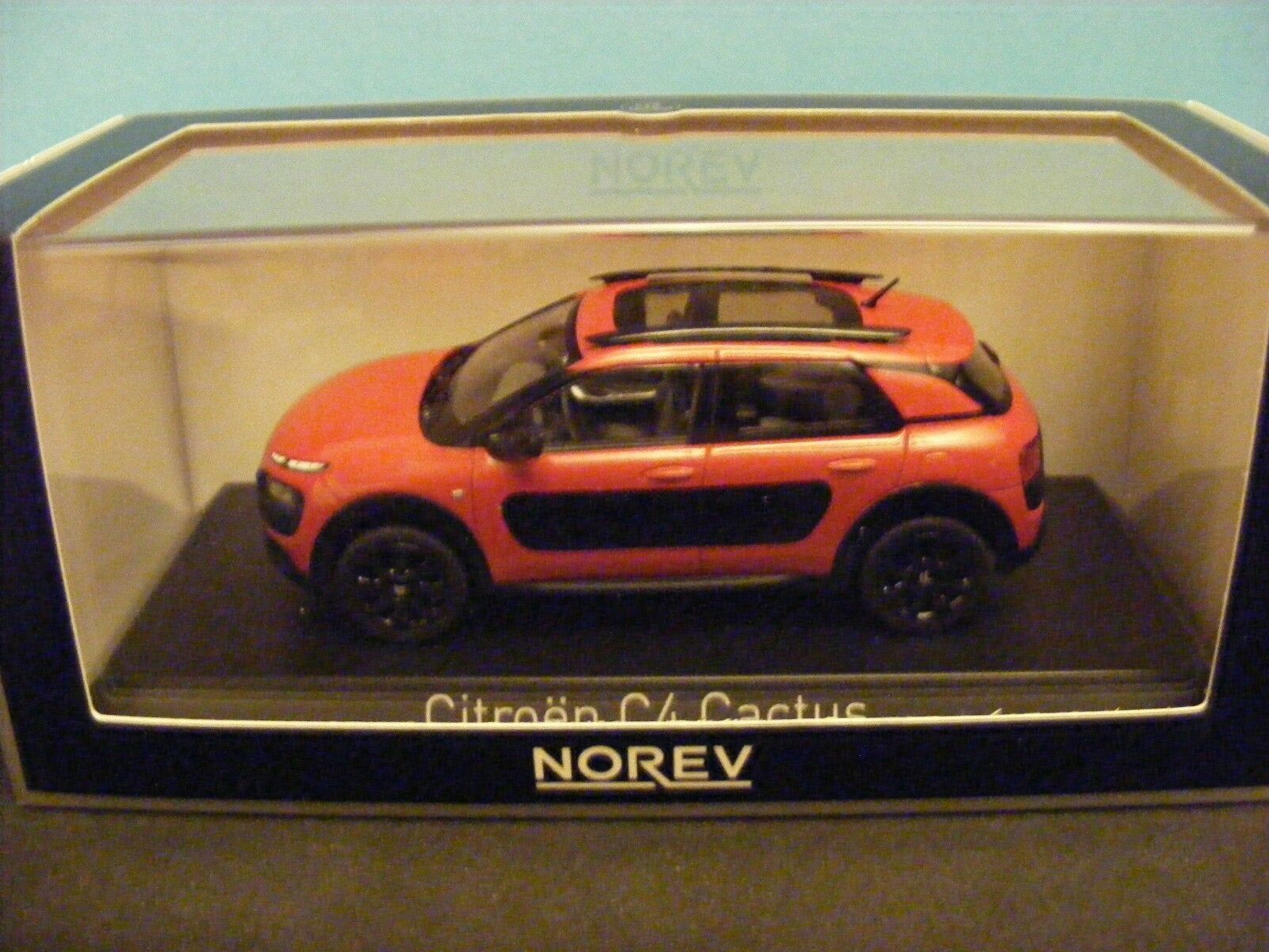 Citroen C4  Cactusin Aden Red 2014 A new release from   Norev 1 43rd New item