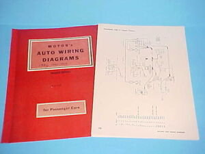 details about 1946 1947 1948 1949 1950 1951 1952 1953 1954 packard clipper wiring diagrams  1949 cadillac wiring diagram