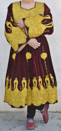 70s Vintage Kuchi Dress Afghan Nomad Tribal Ethnic