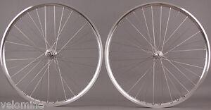 H-Plus-Son-Archetype-Silver-Rims-Chris-King-R45-Hubs-Road-Bike-Wheelset-Sapim-CX