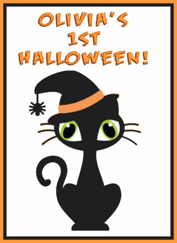 CREATE BIBS BABIES MY FIRST HALOWEEN IRON ON TRANSFER VESTS COSTUMES BAGS