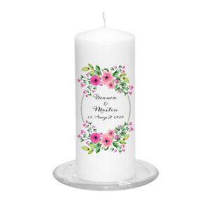Hochzeitskerze-Floral-Wreath-inkl-Personalisierung-Hochzeit-Traukerze-Vintage