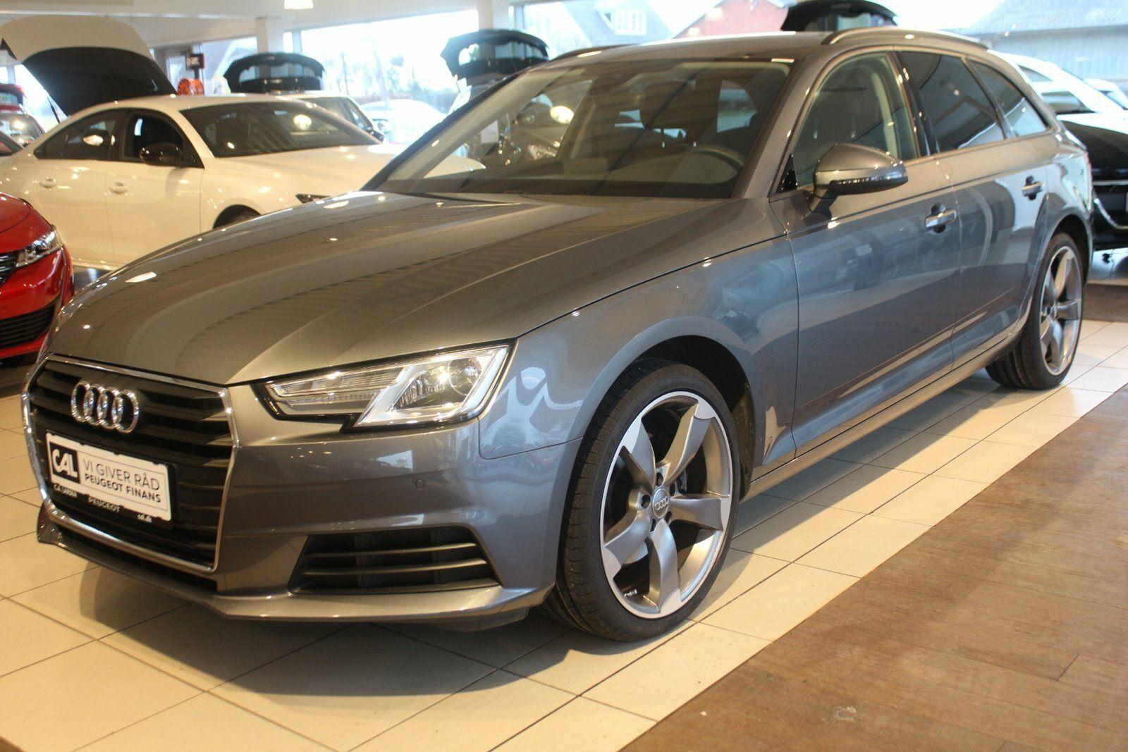 Audi A4 2,0 TFSi 190 Avant S-tr. 5d - 389.900 kr.