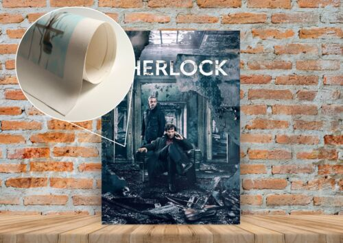 Framed Option Sherlock TV Show Poster or Canvas Art Print A3 A4 Sizes