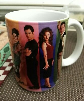 Will and Grace Classic Sitcom Coffee Mug Official Merchandise NBC 2003