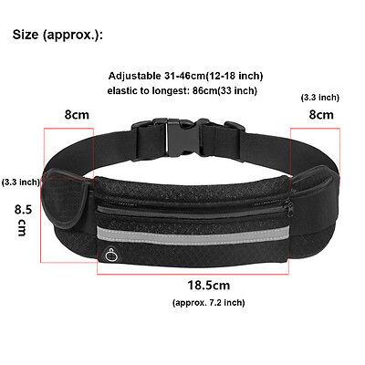 Neu Lauftasche Geldgürtel Gürteltasche Bodybag waist bag Stretchbag Jogging