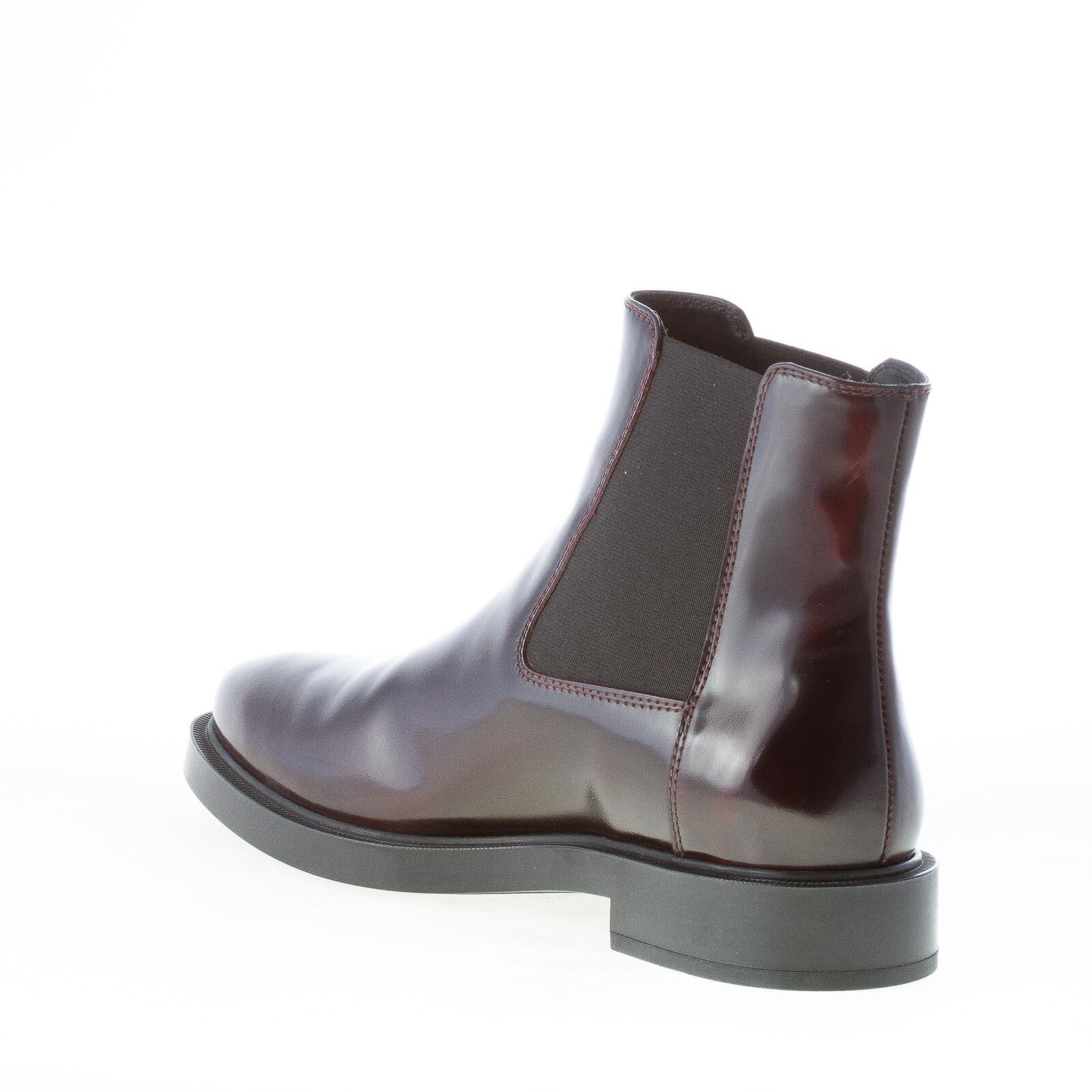 TOD'S leather women shoes Bordeaux smooth leather TOD'S Chelsea boot XXW0ZP0V830AKTR802 51428b