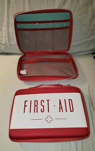 Empty First-Aid Kit Case / Discreet Single Handgun Case With Zipper and Handle