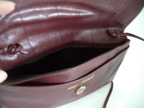 bandolera de de rojo cuero oscuro Bolso Gabrielle HxqdAwH