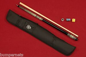 Brand-New-McDermott-Pool-Cue-with-Accessories-Billiards-Stick-Free-Case