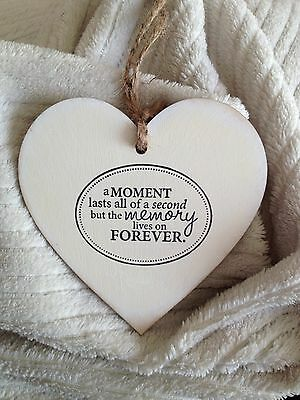 Shabby Chic  Hanging Wooden Heart, Sign, Love Quote, East Of India Style