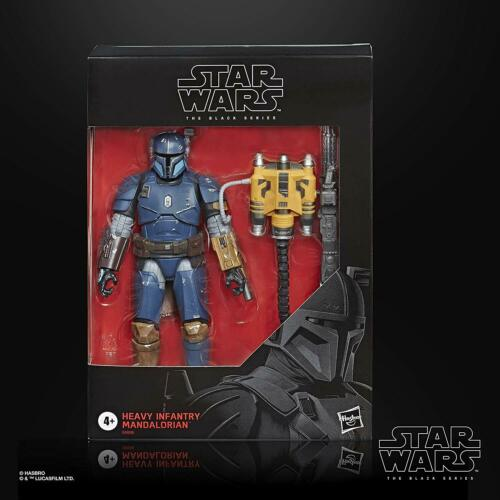 new Star Wars The Black Series Heavy infantry  Mandalorian
