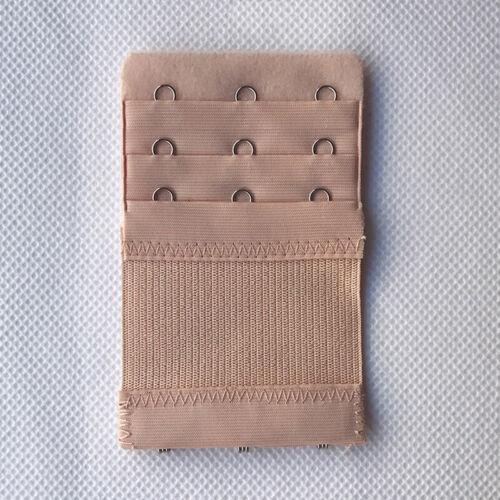Bra Extender Women 2//3//4Hooks Elastic Adjustable Bra Extension Strap 2PCS