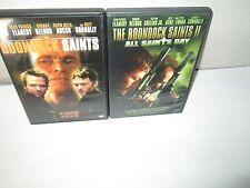 BOONDOCK SAINTS 1 & 2 rare dvd Set IRISH CRIME GANG Norman Reedus WILLEM DAFOE