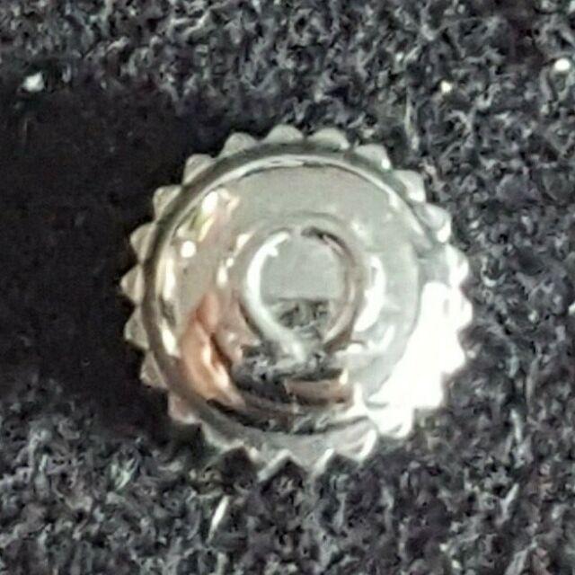 Omega Water Resistant Crown, Steel, Part Number 42102