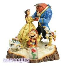 NEW * BEAUTY BEAST * TALE AS OLD TIME DISNEY TRADITIONS FIGURINE STATUE 4031487