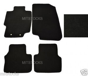 fit for 2004 2008 acura tl black nylon carpet floor mats ebay rh ebay com 2010 Acura TSX Floor Mats 2006 Acura RDX Floor Mats