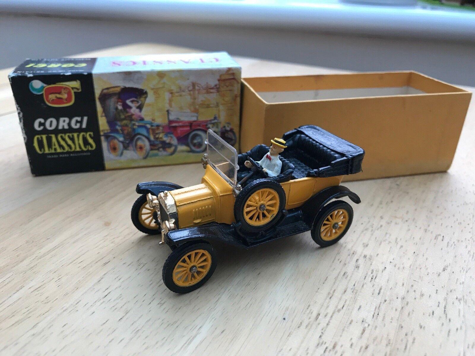 Classic Corgi Model T Ford 1915 Vintage Car Toy