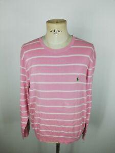 RALPH-LAUREN-Maglione-Maglioncino-Cardigan-Sweater-Pullover-Tg-L-Uomo
