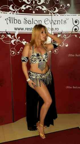 Professional Belly Dance Costume From Egypt BELLYDANCE Custom Made Any Color New