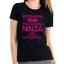 Erzieherin-Multi-Tasking-Ninja-Fun-Sprueche-Kita-Lustig-Damen-Girlie-T-Shirt Indexbild 3
