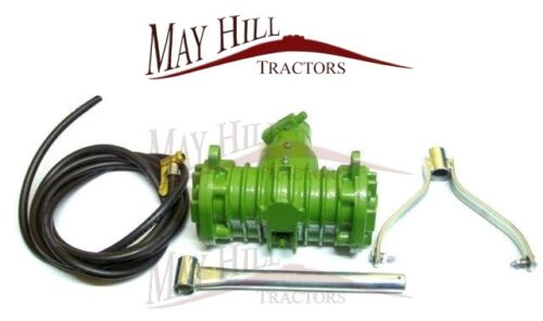 Case International Leyland Tractor PTO Air Compressor - Twin cylinder - #2908