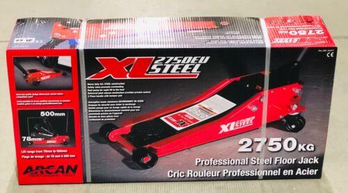 Model XL2750EU Arcan 2750kg Steel Service Jack 3 Ton