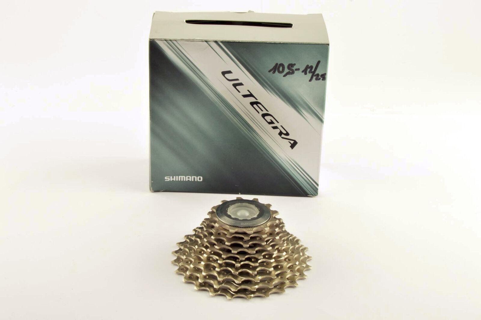 NEW Shimano Ultegra  CS-6700 10-speed cassette 12-25 teeth from 2010 NOS/NIB