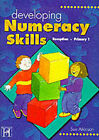 Developing Numeracy Skills: Reception (primary 1) by Sue Atkinson (Paperback, 1999)