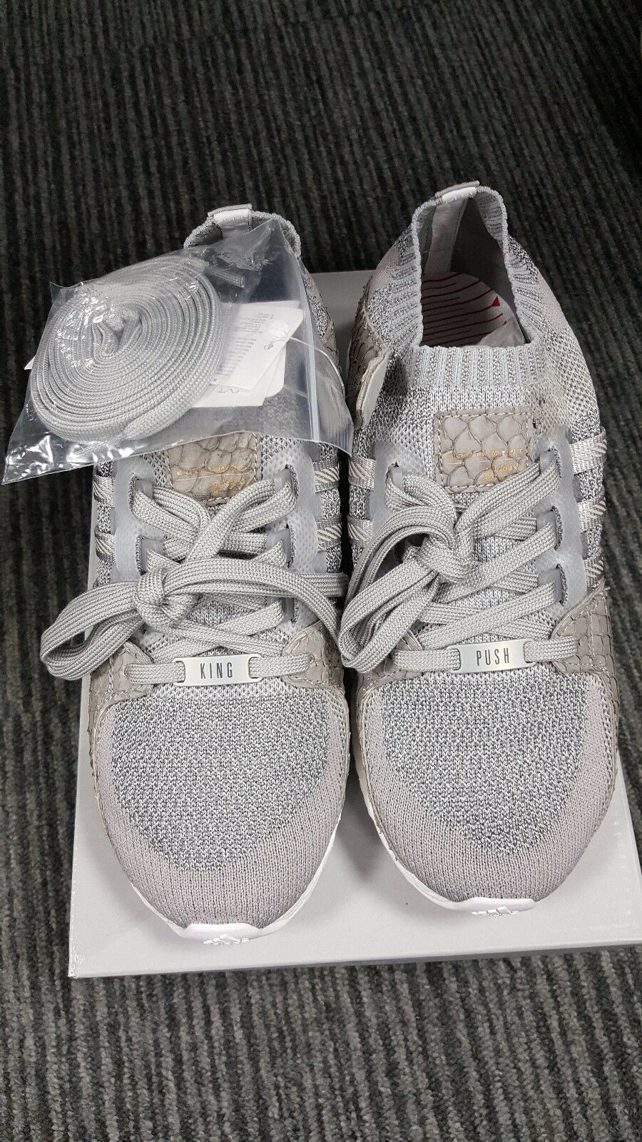 "ADIDAS ORIGINALS X PUSHA T ""KING PUSH"" EQT ULTRA BOOST UK6.5 US7"