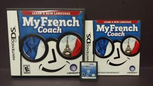 My-French-Coach-Nintendo-DS-DS-Lite-3DS-2DS-Game-Complete-Tested-Working