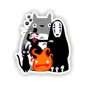 Spirited-Away-Totoro-Sticker-Cute-Ghibli-Decal-Skateboard-Phone-Stickerbomb-Kids